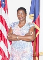 Commissioner Vernia Calhoun is running to fill her seat for another term. (Photo City of Marshall)