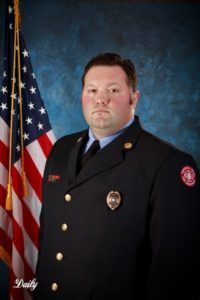 Lt. John Wilson, MFD, and president of the fire fighter's associationassociation