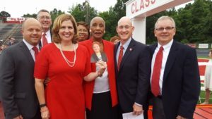 MISD Board of Trustees and acting school superintendent (Warwick Photos)