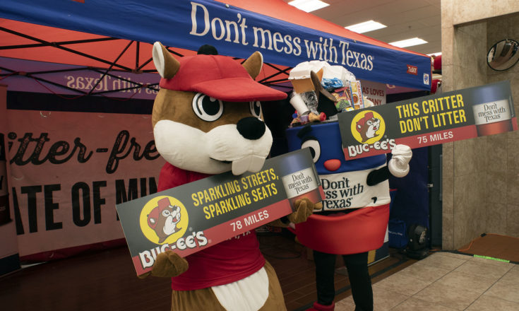 Buc-ees & TXDOT Team Up