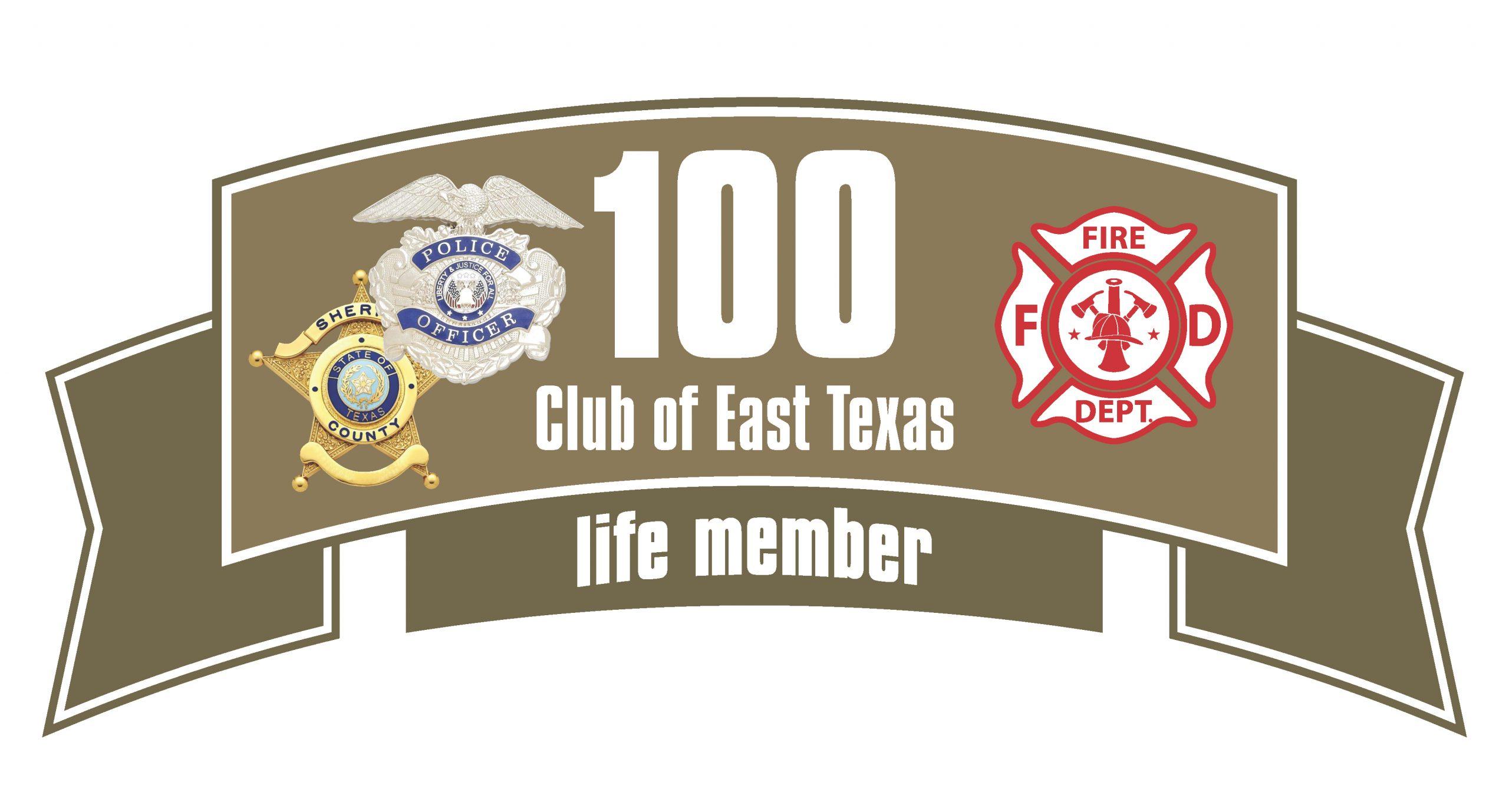 East Texas 100 Club logo